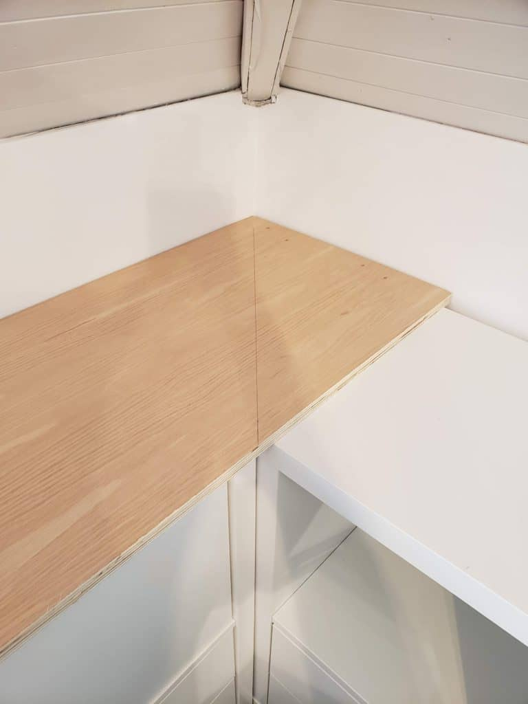 How I Customized A Free Ikea Kallax Into Office Storage The Homestud