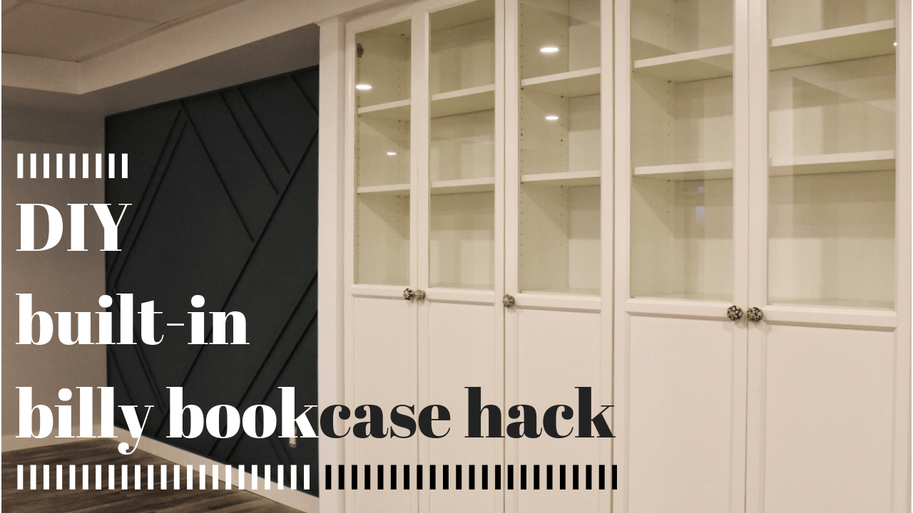 Built In Billy Bookcase Hack The Homestud