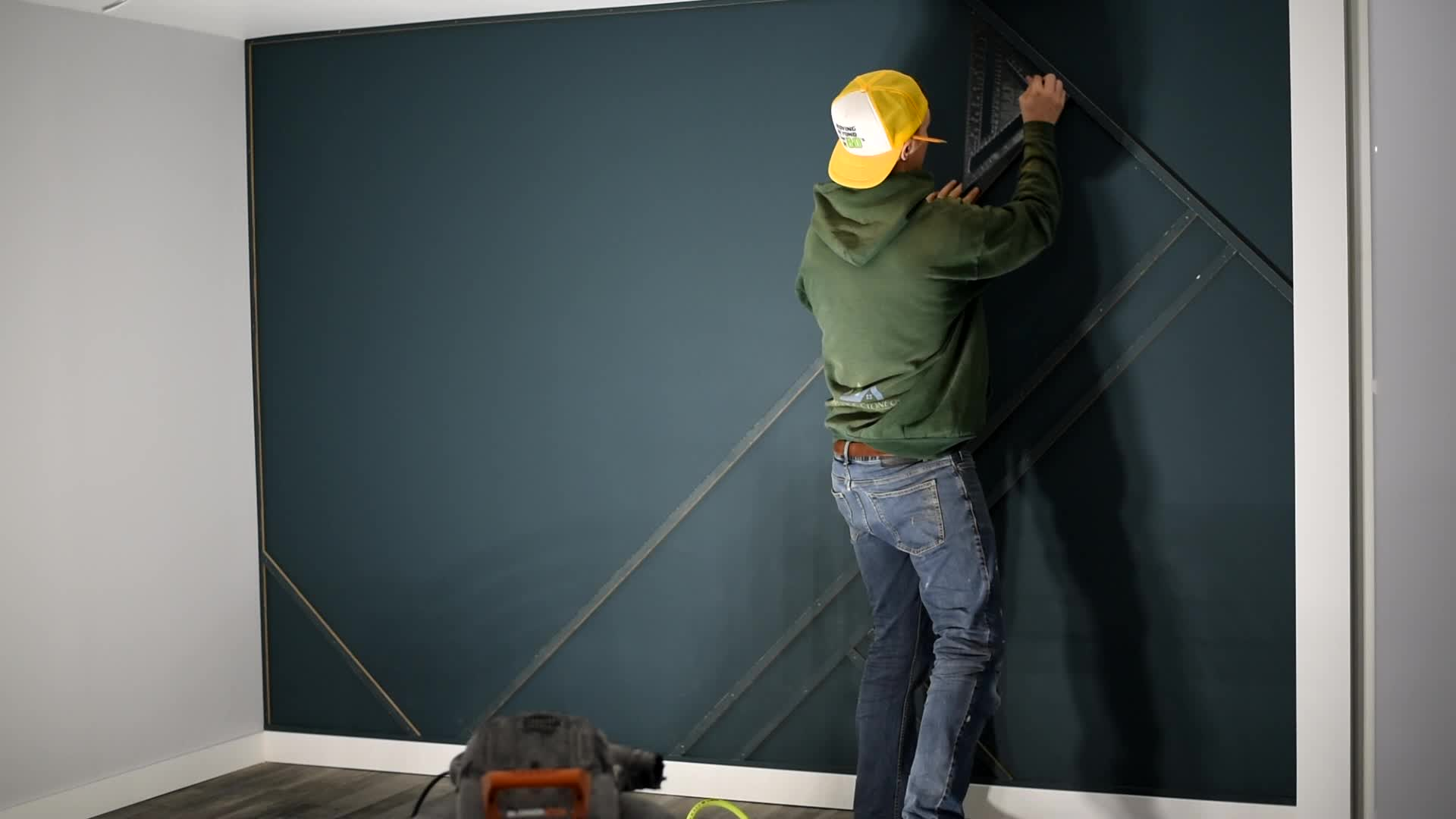 Creating The Perfect Wood Accent Wall