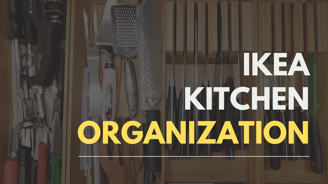 24 Ikea Kitchen Organization And Storage Ideas The Homestud